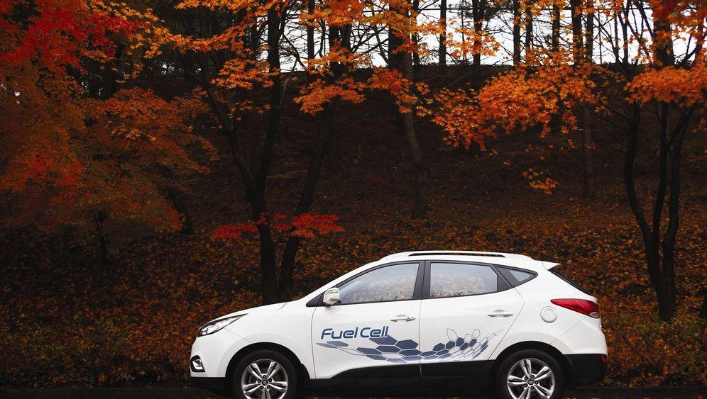 Hyundai ix35 mit Brennstoffzelle: Der Erste seiner Art