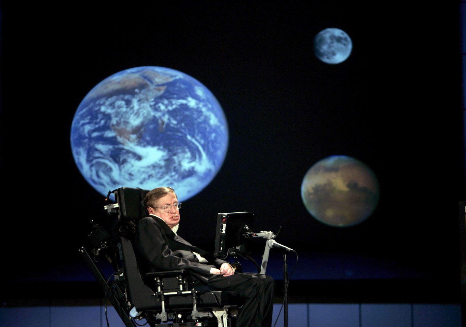 Nachruf/ Stephen Hawking/ 2008