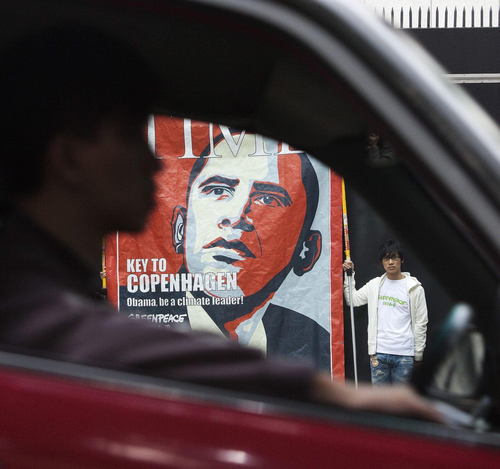 Obama / Time-Titelbild zu Klimagipfel Kopenhagen