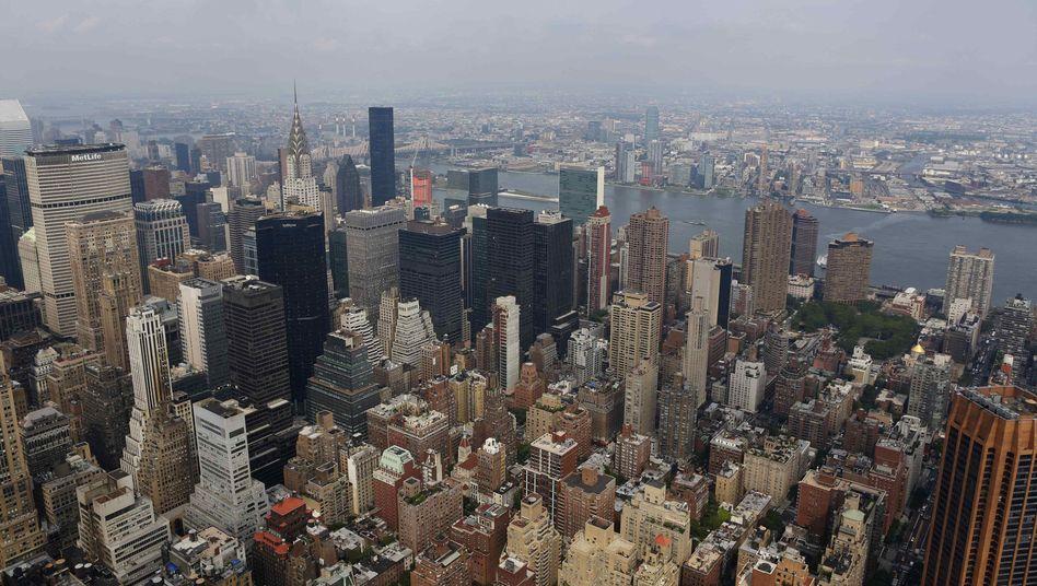 New York: Hier haben einige Finanzinvestoren ihren Sitz