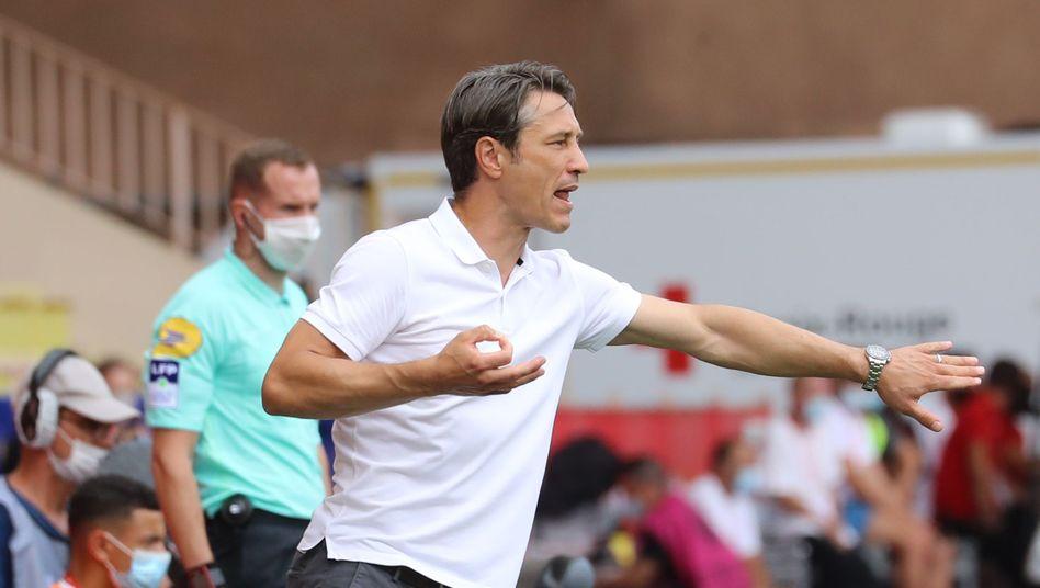 Niko Kovac konnte zum Einstand nur begrenzt zufrieden sein