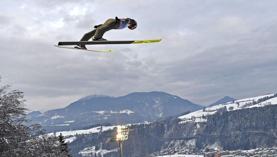 Kamil Stoch war auch in Bischofshofen der dominierende Skispringer