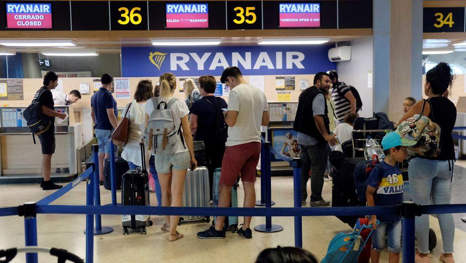 Ryanair Passagiere