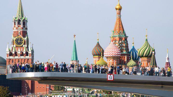 Sarjadje-Park in Moskau: Russland in Klein