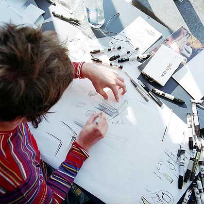 Designworks USA: Erste Skizzen für ein neues Lifestyleprodukt