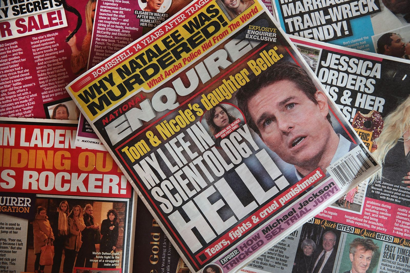US-NATIONAL-ENQUIRER-PUT-UP-FOR-SALE-BY-PARENT-COMPANY-AMI