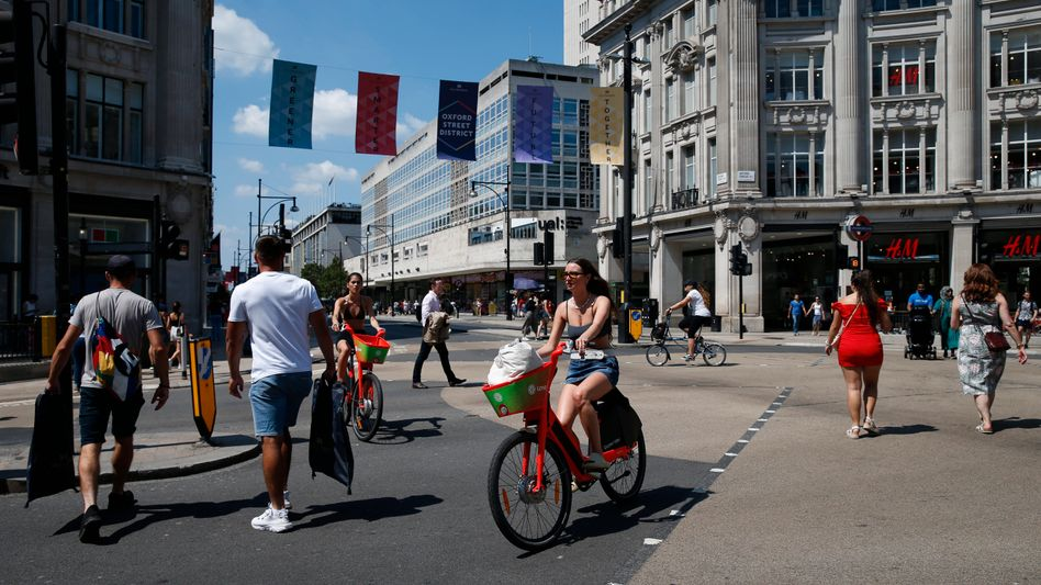 Straßenverkehr in London: Die britische Regierung will Rechte schwächerer Verkehrsteilnehmer stärken