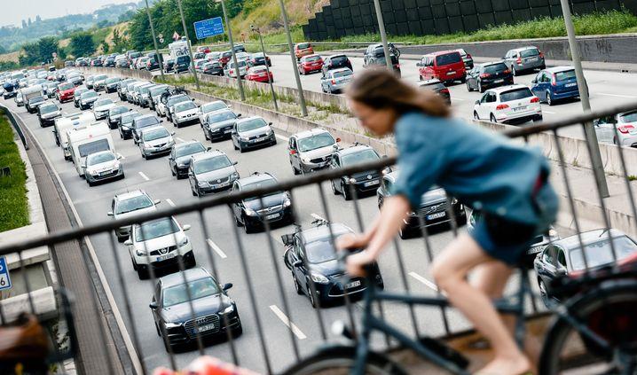 Teilprivatisierte Autobahn A1
