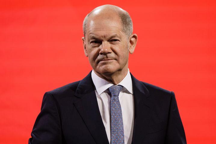 SPD-Kanzlerkandidat Scholz