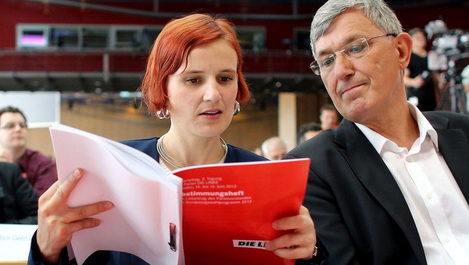 Linken-Vorsitzende Kipping, Riexinger: Man ist von der Linkspartei einiges gewöhnt