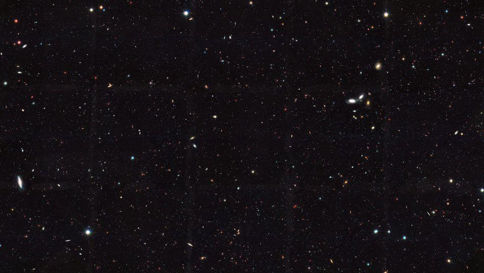 Eine Aufnahme des Hubble-Teleskops.
