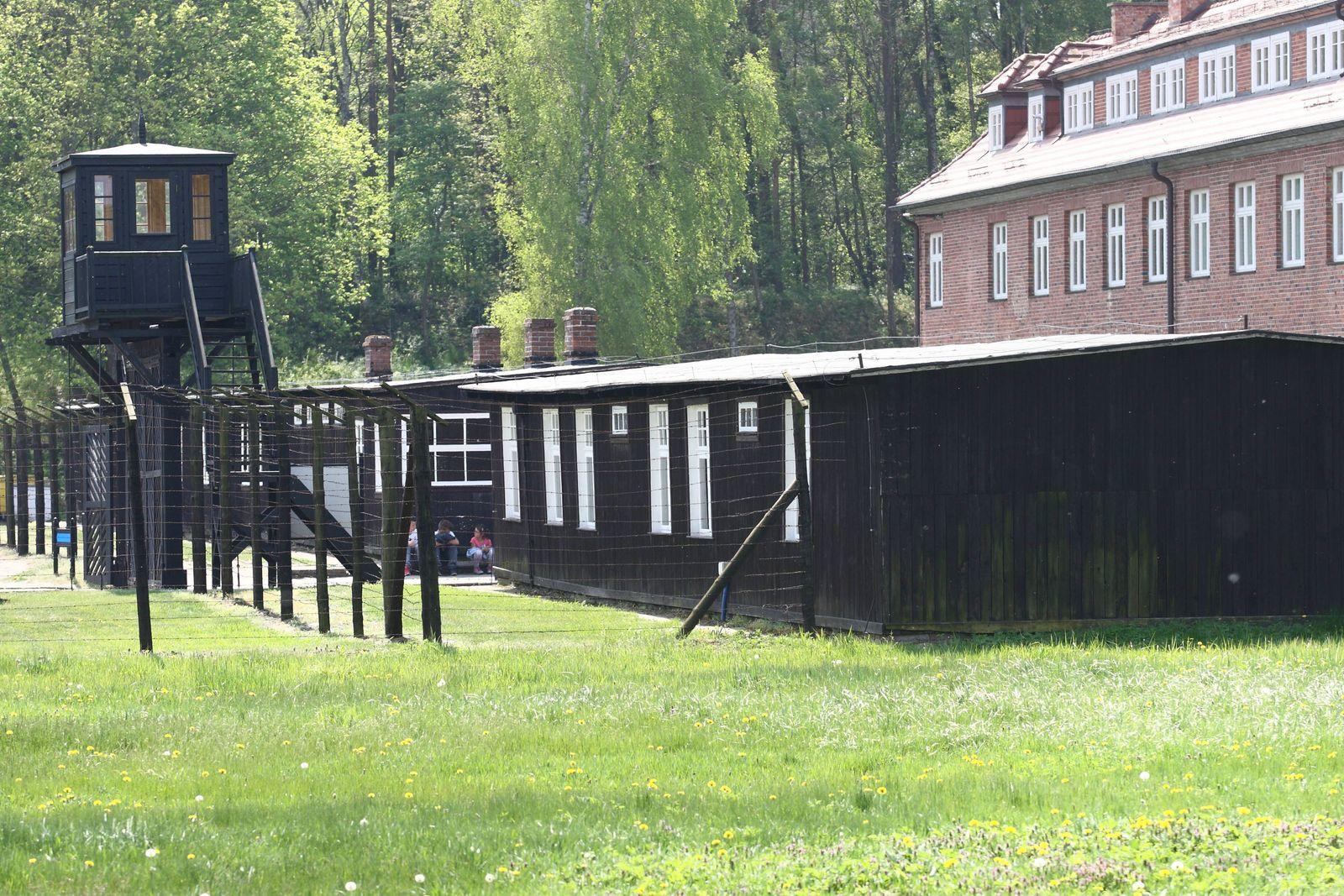 EINMALIGE VERWENDUNG KZ Stutthof/ Sztutowo