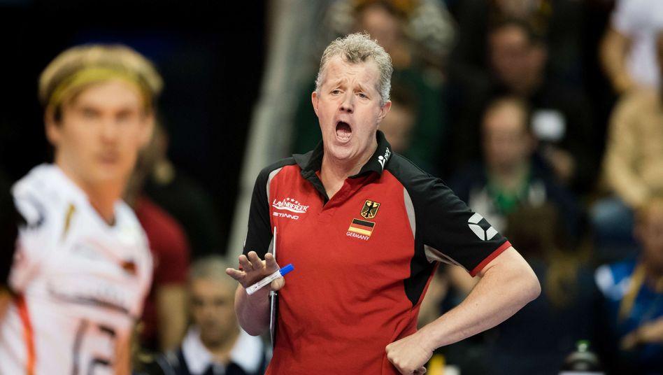 Volleyball-Bundestrainer Heynen: Auf Olympia-Aus reagiert