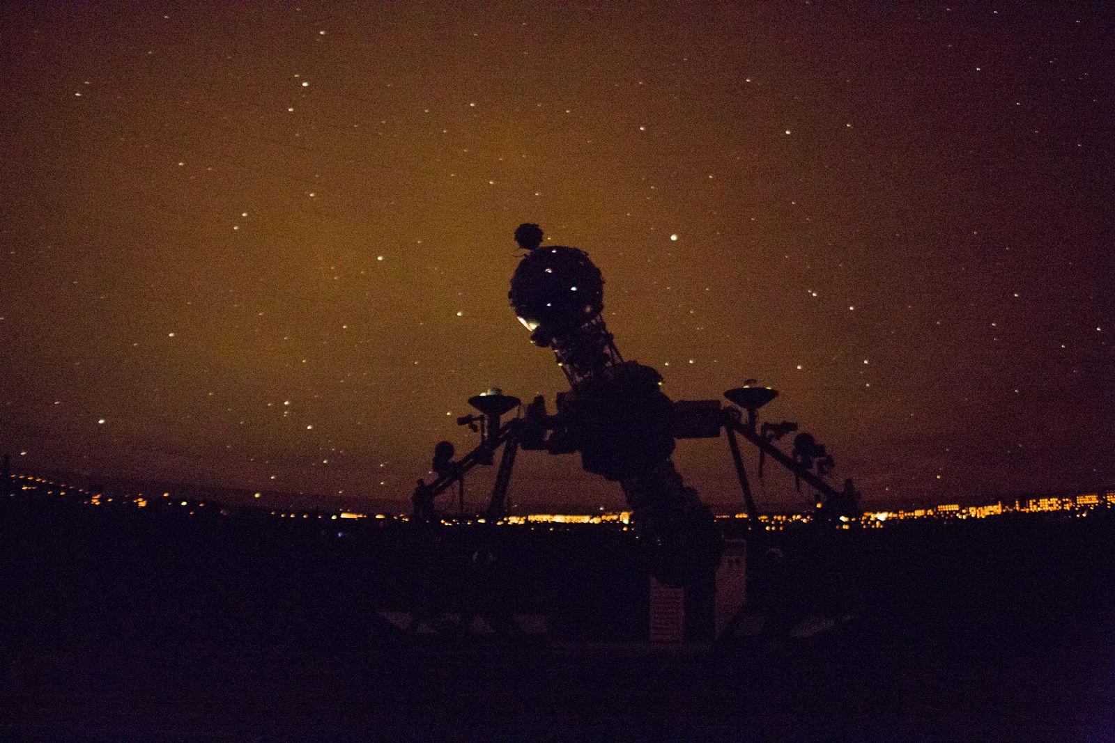 EINMALIGE VERWENDUNG WM18/ Portraits/ Planetarium