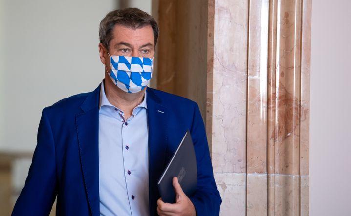 """Bayerns Ministerpräsident Markus Söder: """"Wenn die Vernunft nichts hilft, dann muss gesteuert werden"""""""