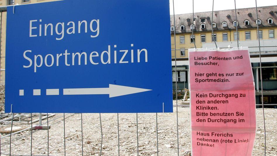 Sportmedizin Freiburg: Systematisches Doping