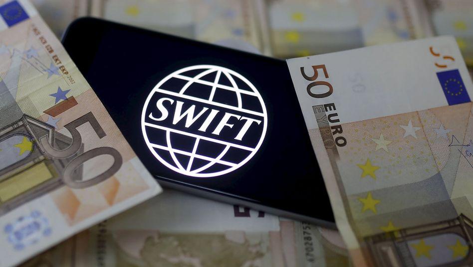 Logo des Zahlungsverbunds Swift