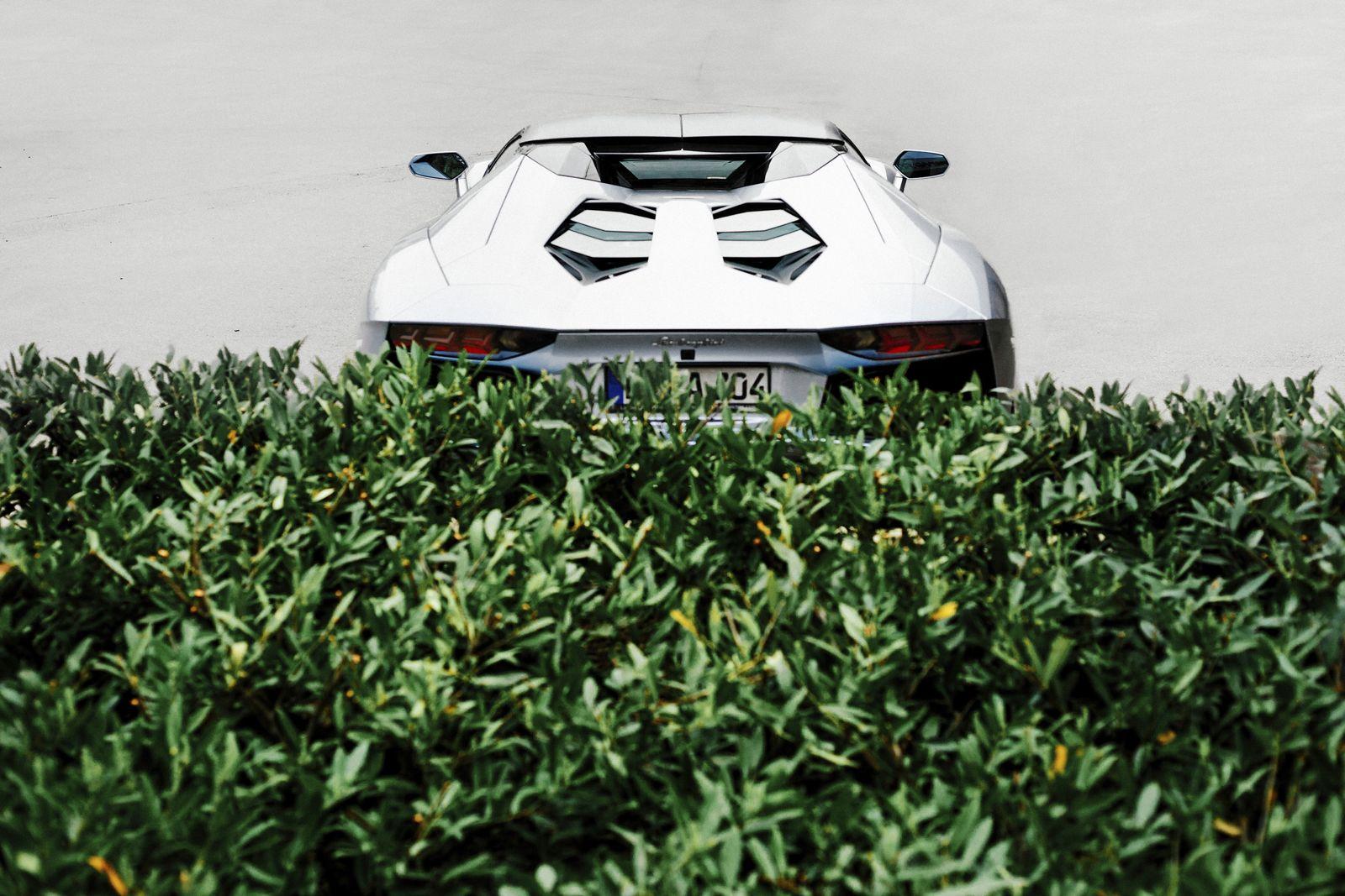 EINMALIGE VERWENDUNG Lamborghini