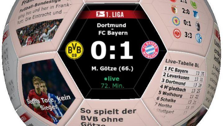 Alle Features auf einen Blick: Die SPIEGEL-ONLINE-Fußball-App für Android