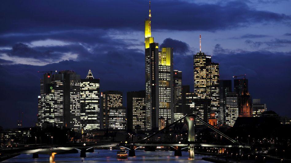 Banken-Skyline in Frankfurt: Neue Lobby