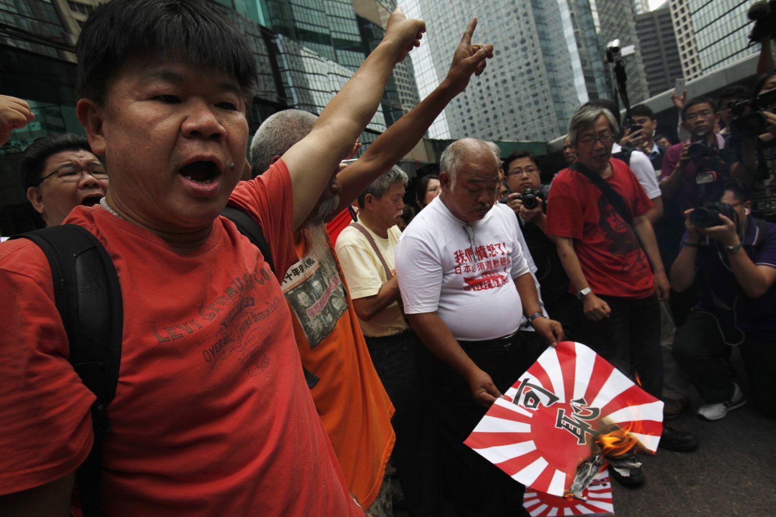 Anti-japanische Proteste in China