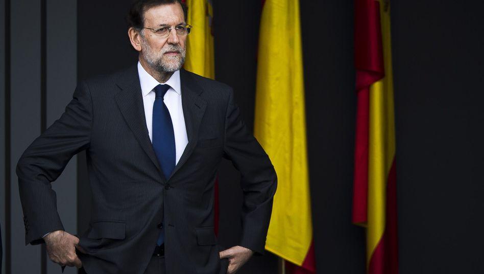 """Spaniens Premier Rajoy: """"Nie unangemessen verhalten"""""""