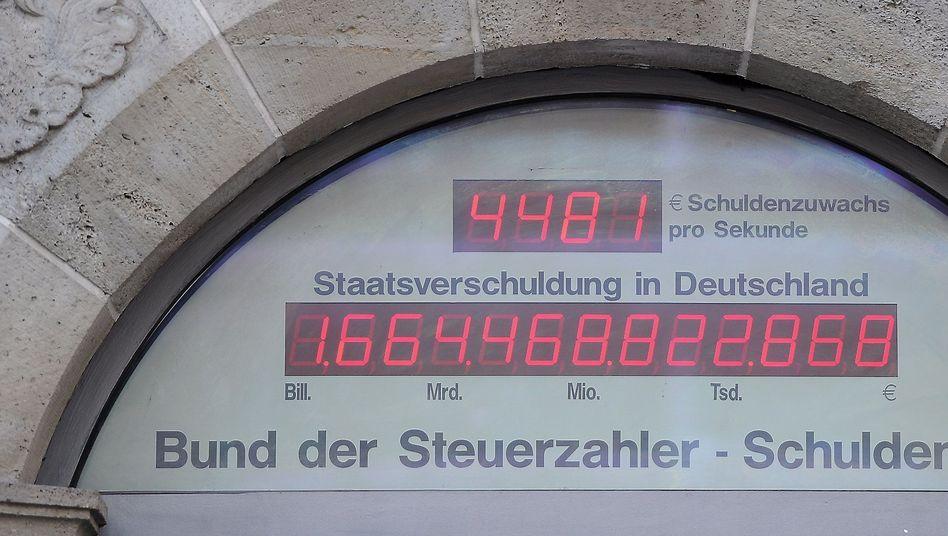 Deutschland Schuldenuhr