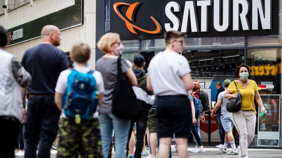 Saturn-Filiale in Köln: Umsatzrückgänge durch Corona