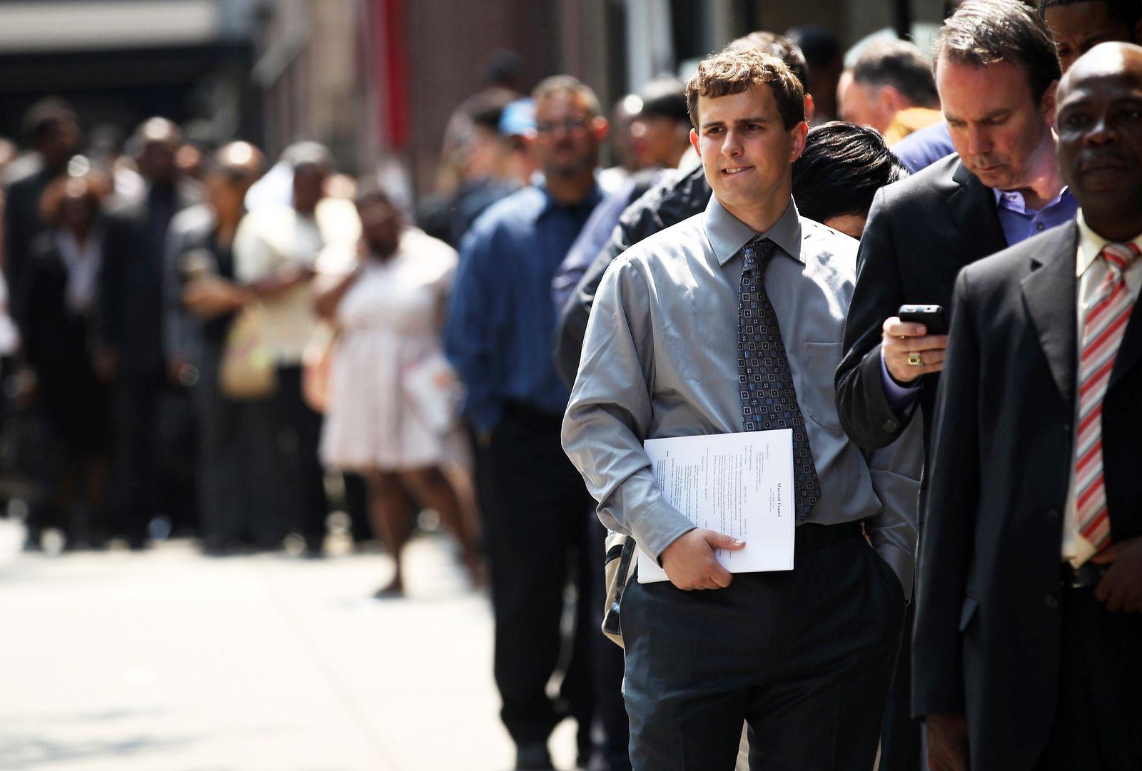 Arbeitslosigkeit / USA / Arbeitsmarkt