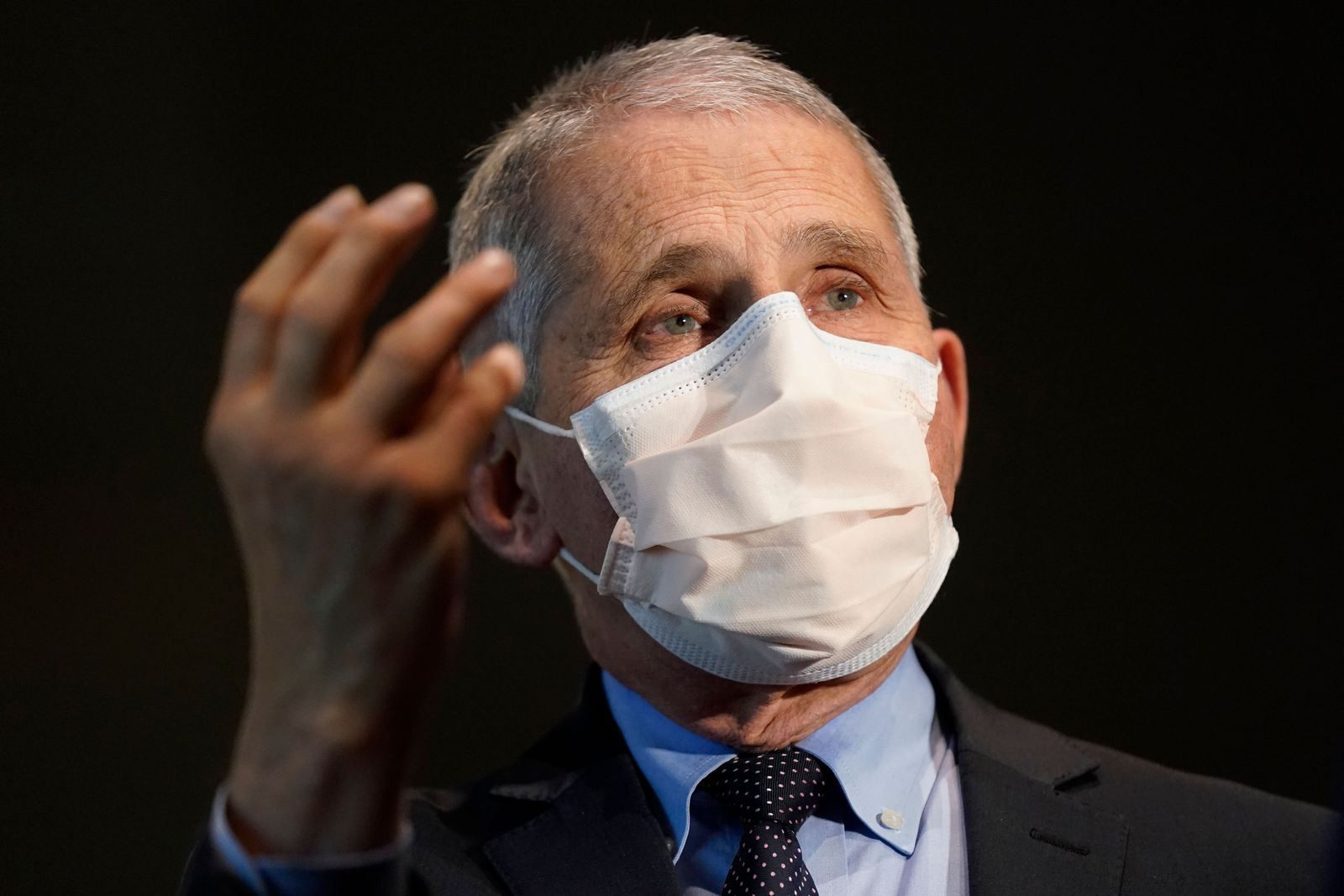 Dr. Anthony Fauci receives the COVID-19 vaccine, Bethesda, USA - 22 Dec 2020