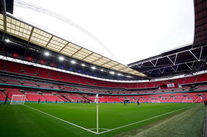 Im legendären Wembley-Stadion wird der Sieger ermittelt