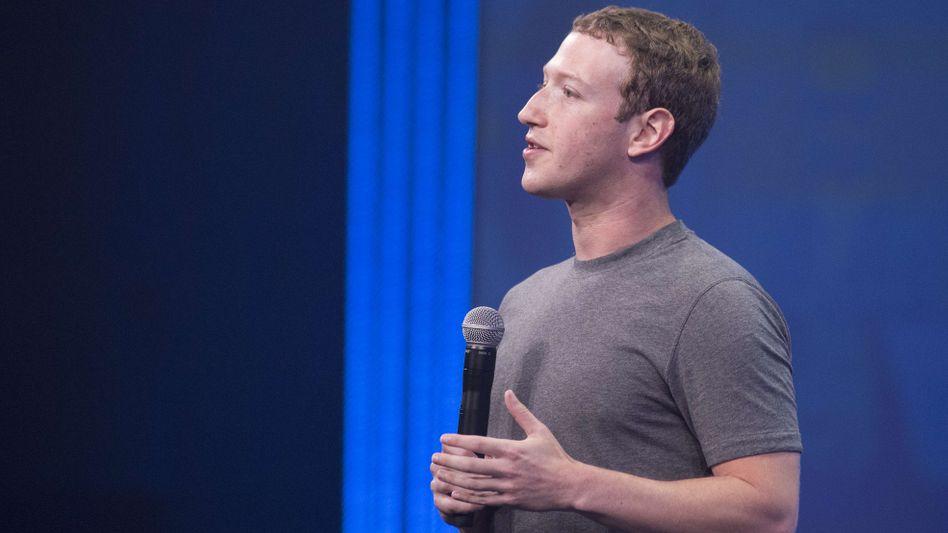 Facebook-Chef Mark Zuckerberg: Drohnenprojekt gestartet