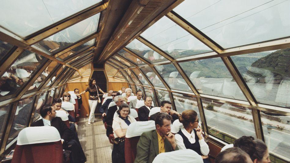 1957 bis 1987: Mit Tempo 200 in klimatisierten Erste-Klasse-Wagons durch Europa