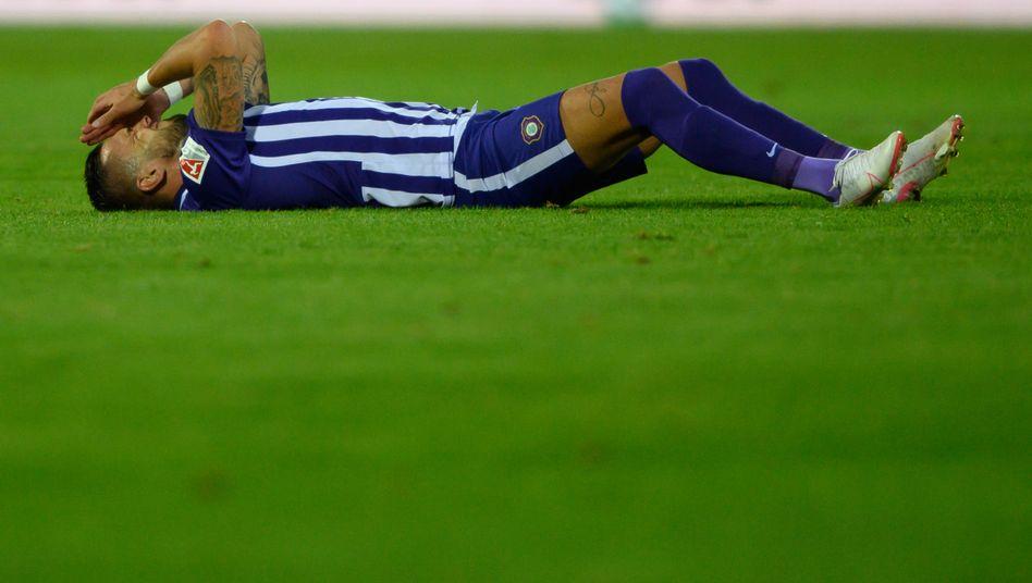 Zuletzt erspielte sich Aue einen Punkt beim 1:1 gegen Greuther Fürth