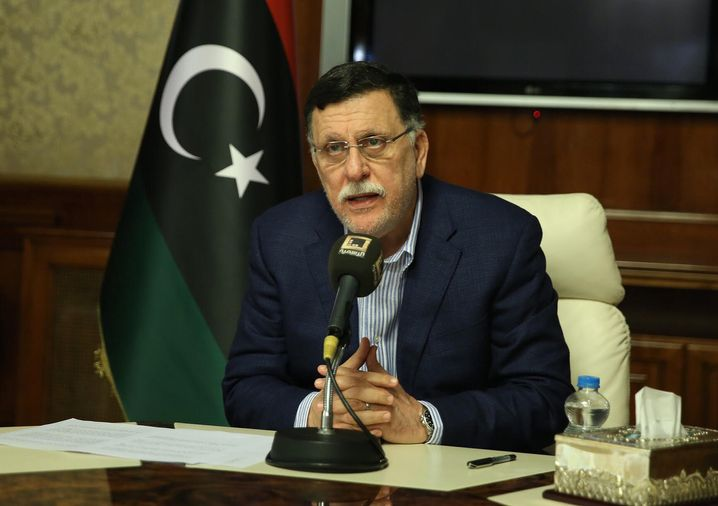 Ministerpräsident Fayez Sarraj
