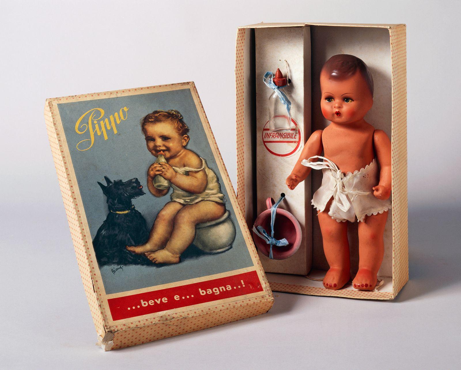 Pippo baby doll box