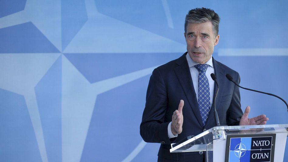 """Nato-Generalsekretär Rasmussen: Ukraine-Krise als """"Weckruf für Europa"""""""