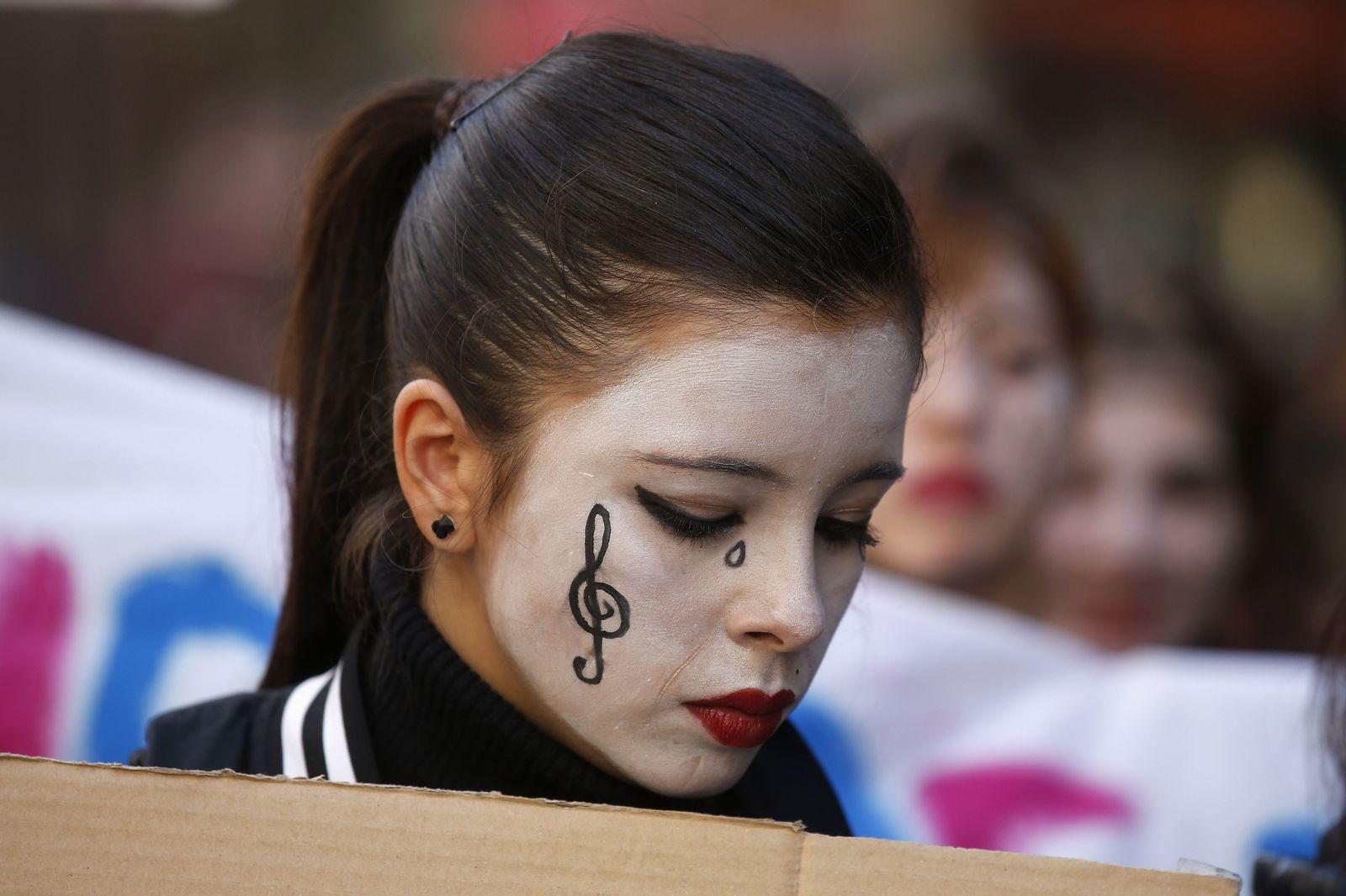 Jugend / Proteste Spanien
