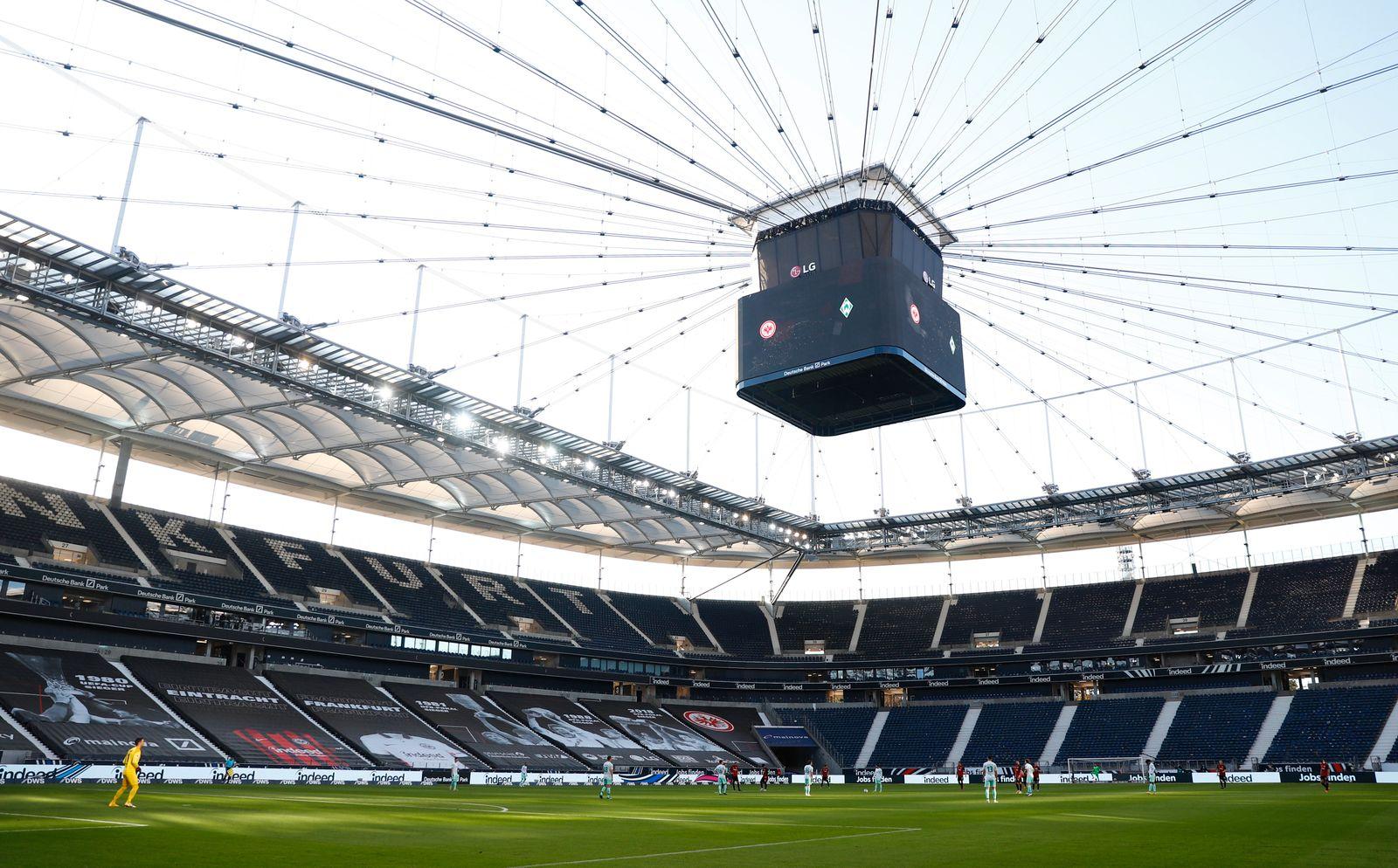 Bundesliga - Eintracht Frankfurt v Werder Bremen