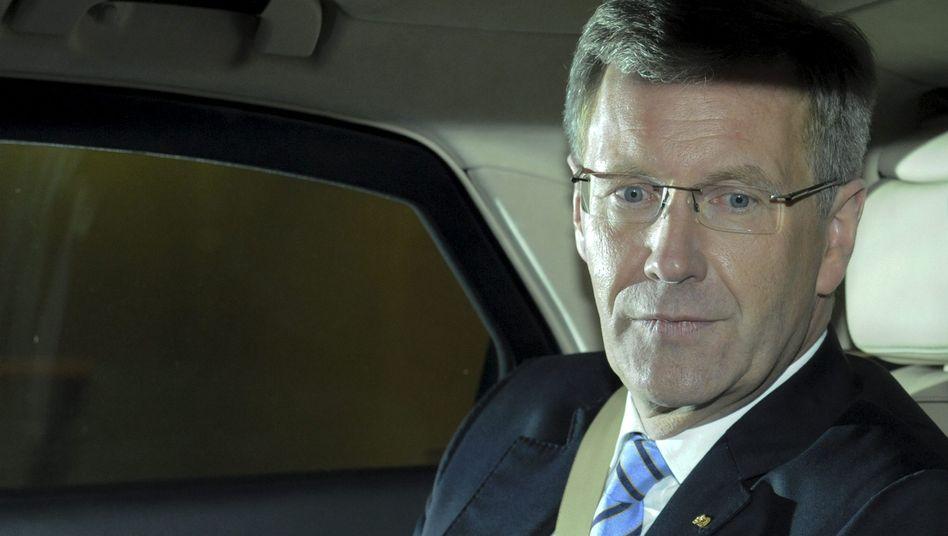 "Bundespräsident Wulff (im Januar): ""Präsidentschaft so oder so beendet"""