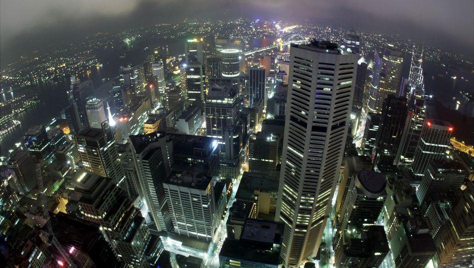 Sydney, Australien: Leuchtende Großstädte