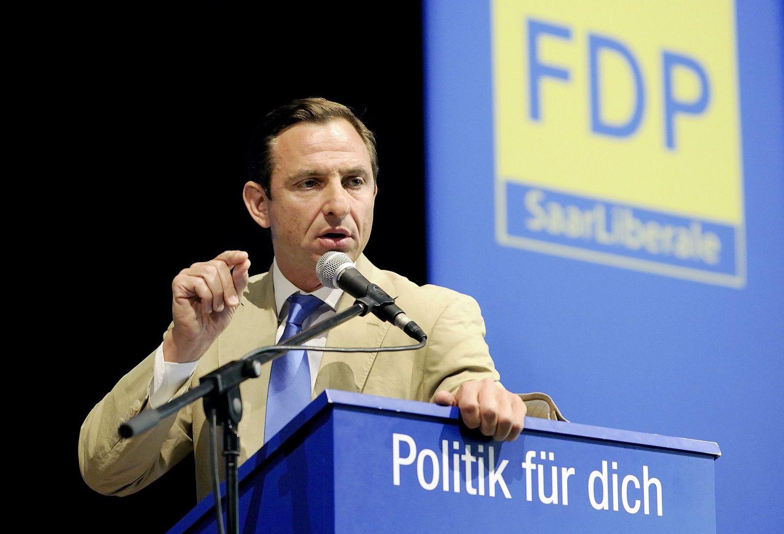 Jorgo Chatzimarkakis/ Landesparteitag/ Saarland/ FDP
