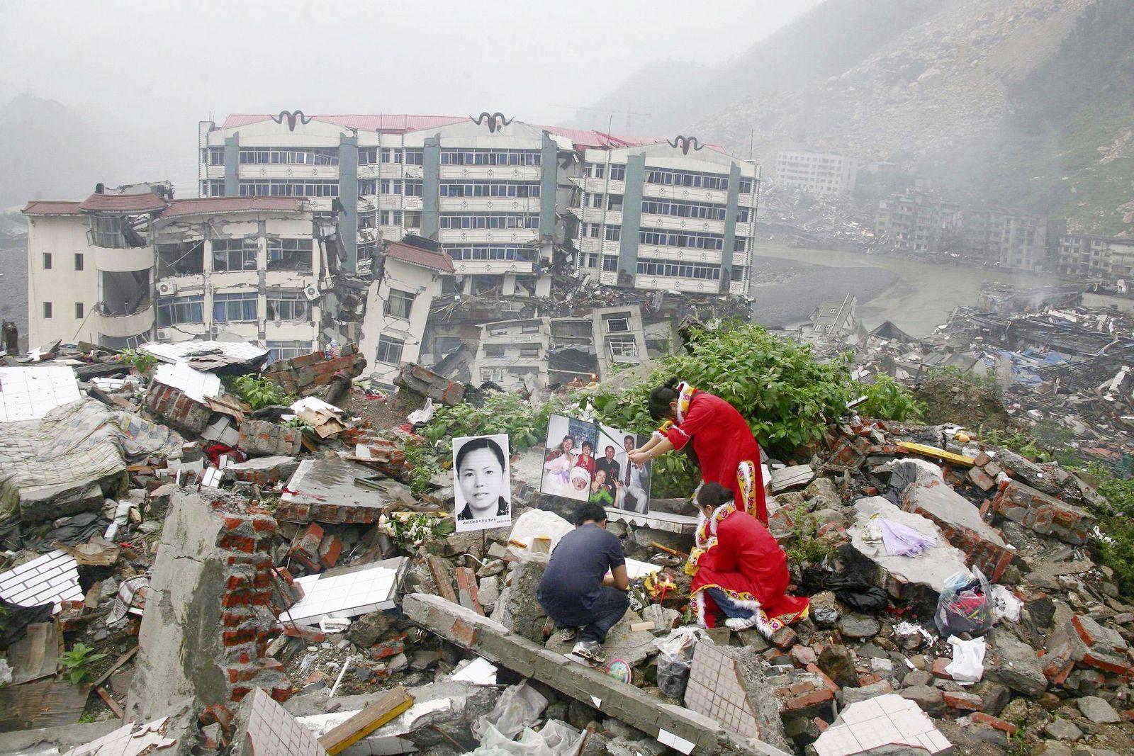 Beben Sichuan China