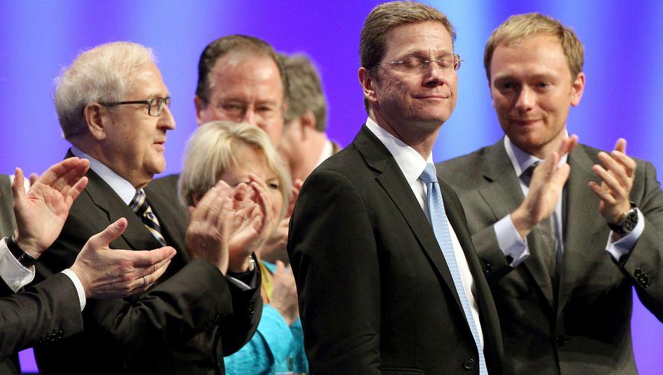 FDP-Chef Westerwelle, Parteifreunde (im April 2010): Fünf Modelle für die Zukunft
