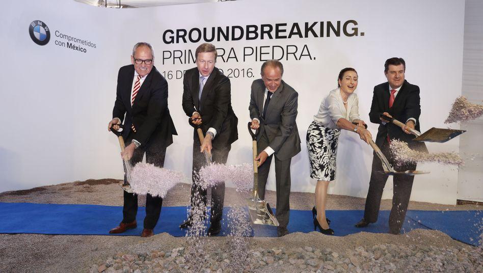 Spatenstich: BMW beginnt Bau eines Werks in San Luis Potosa (Mexiko, Juni 2016)