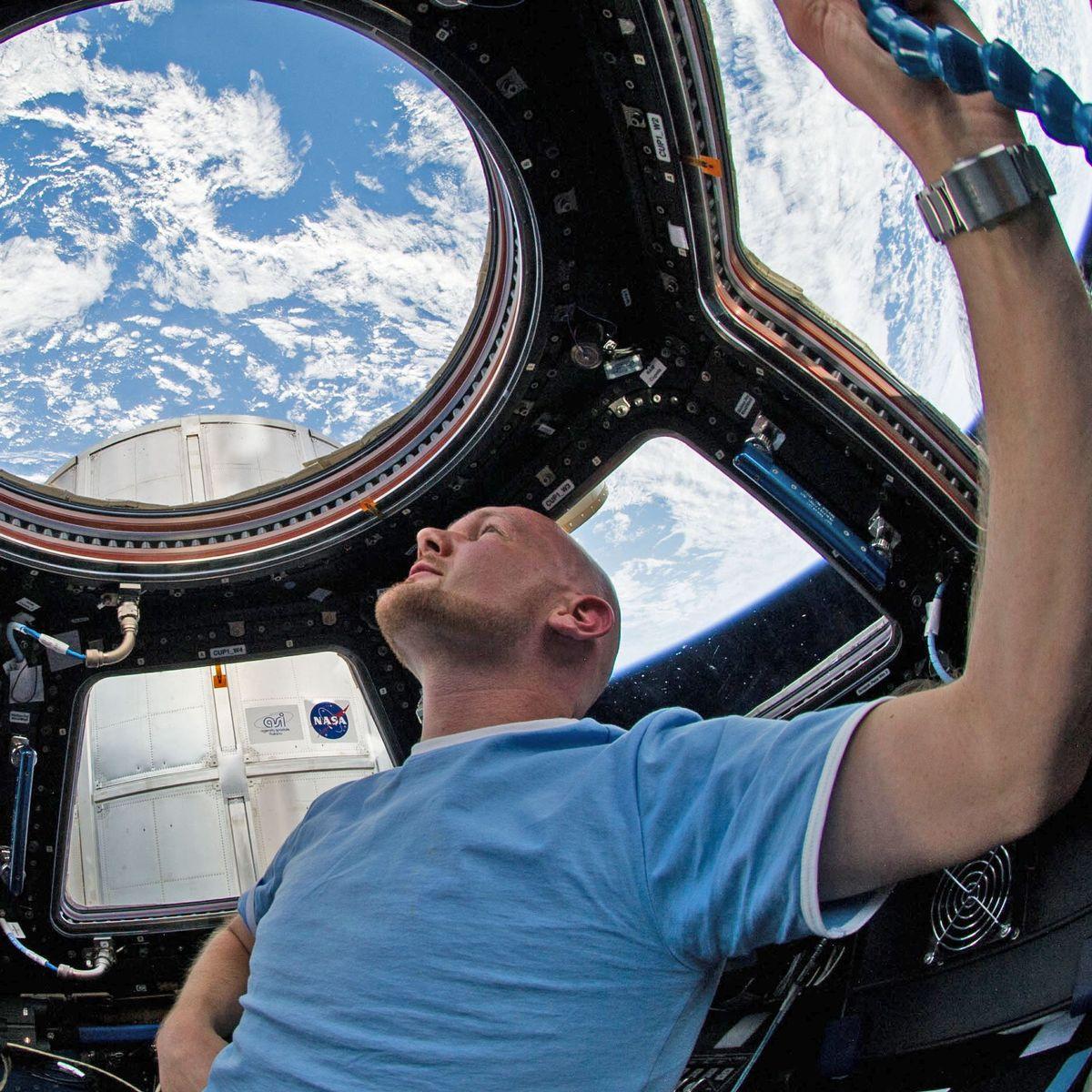 Ausflug Raumfahrt Aufn/äher mit Alexander Gerst ISS 40
