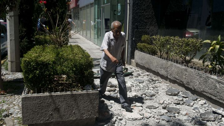 Katastrophe: Schweres Erdbeben erschüttert Mexiko