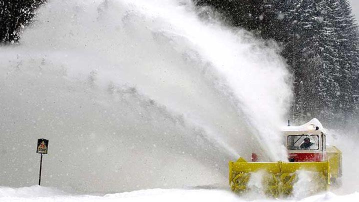 Schnee in Europa: Chaos und Wintermärchen