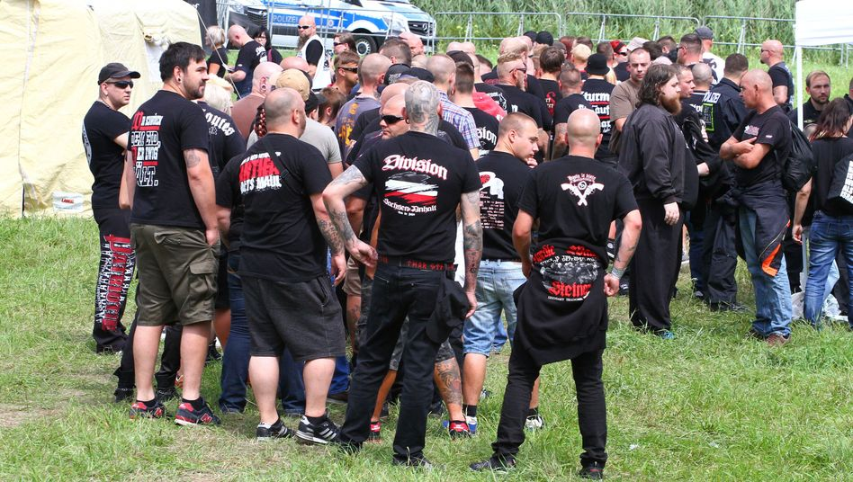 Neonazi-Festival in Themar (Archivbild)