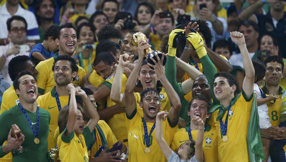 Confed Cup: Brasilien entzaubert Spanien